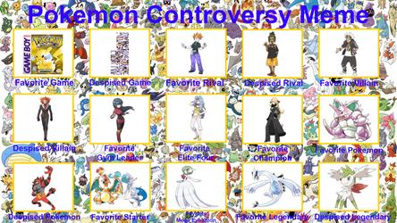 Pokemon Controversy Meme by whosaskin