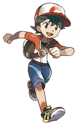 Pokemon Let's GO Male Trainer by whosaskin