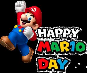 Happy Mar10 Day 2019 by whosaskin