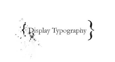 display type by jonight