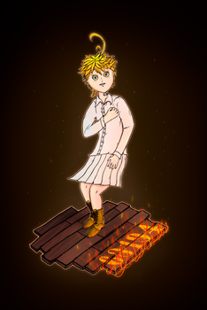 Emma from 'The Promised Neverland' (Upscaled ver.)