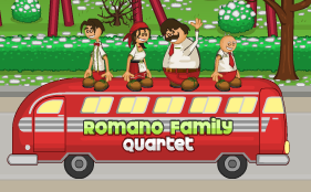 The Romanos On There Bus by hershey990
