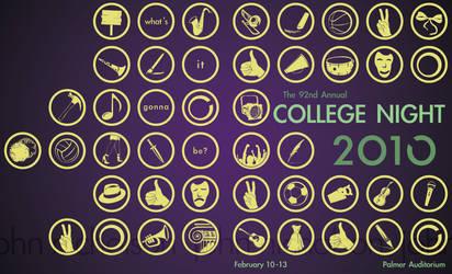College Night by Bewilderbeast