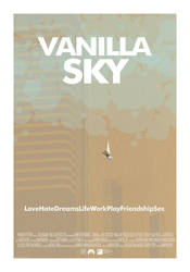 Fake Vanilla Sky Poster by Bewilderbeast