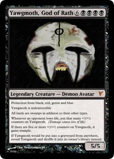 Yawgmoth, God of Rath by panahinuva on DeviantArt Planeswalker Art