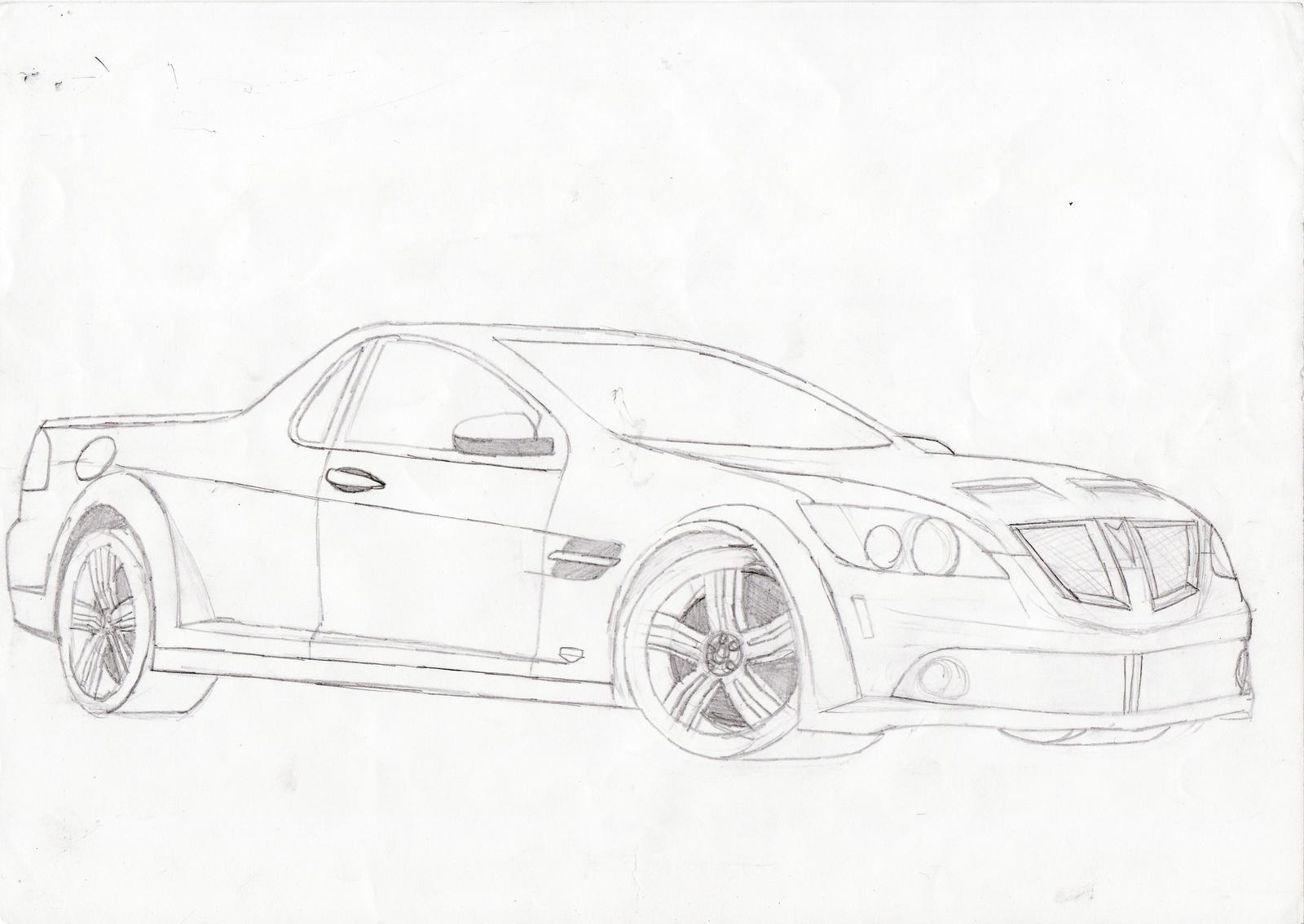 Pontiac G8 Ute By Speedemon08 On Deviantart