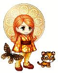 Orange girl by Sukoro24