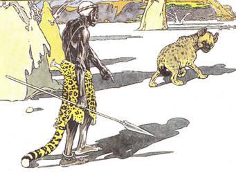 Hyena illustr 1 by LadyFiszi