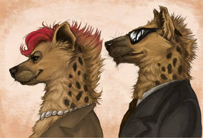 Mafia Hyenas - colored by LadyFiszi