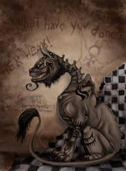 Alice Madness Returns - Cheshire Cat by LadyFiszi