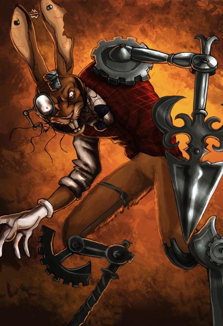 Alice madness returns - The March Hare by LadyFiszi