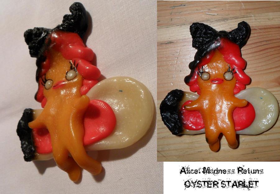 Oyster figurine by LadyFiszi