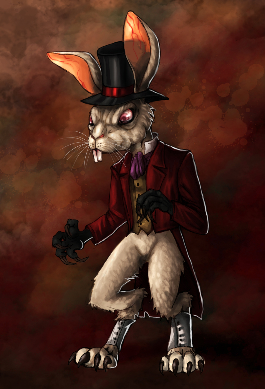 American McGee&#39-s Alice - White Rabbit by 13corpseart13 on DeviantArt
