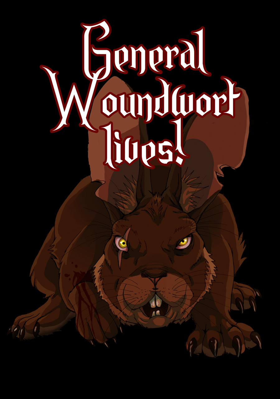 General Woundwort lives - t-shirt by LadyFiszi