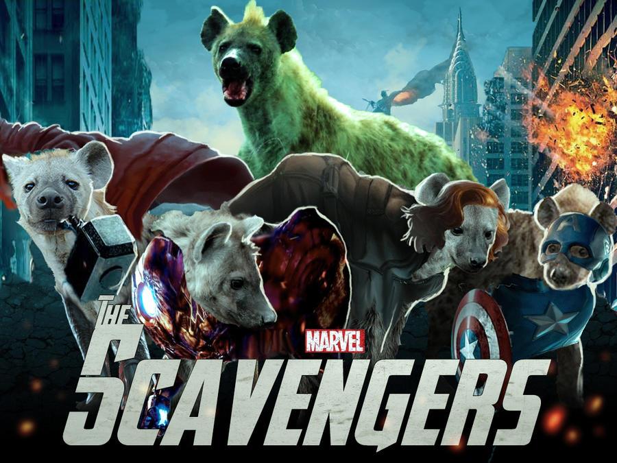 The Scavengers - Hyena Avengers by fiszike