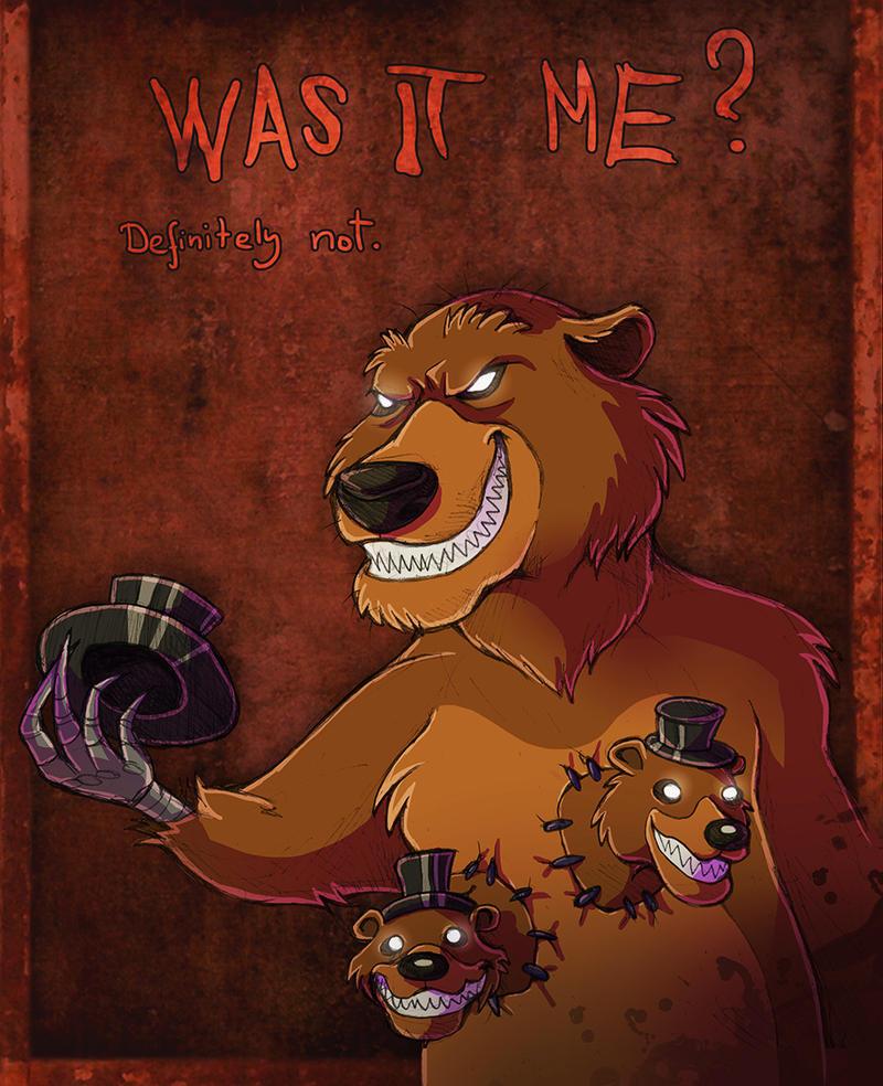 Five Nights At Freddy S 4 Fanart Nightmare Freddy By