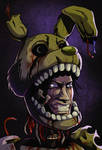 FNAF - Off with the mask (Springtrap)