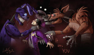 FNAF 4 - Purple Guy's Punishement