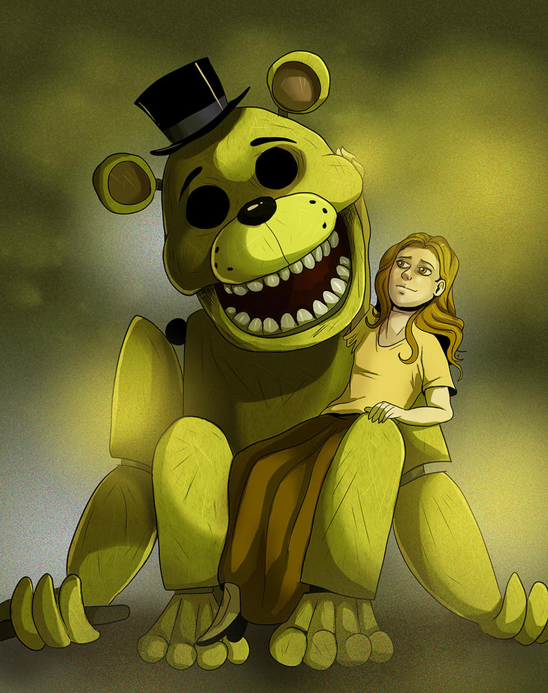 FNAF - Golden Freddy by LadyFiszi on DeviantArt