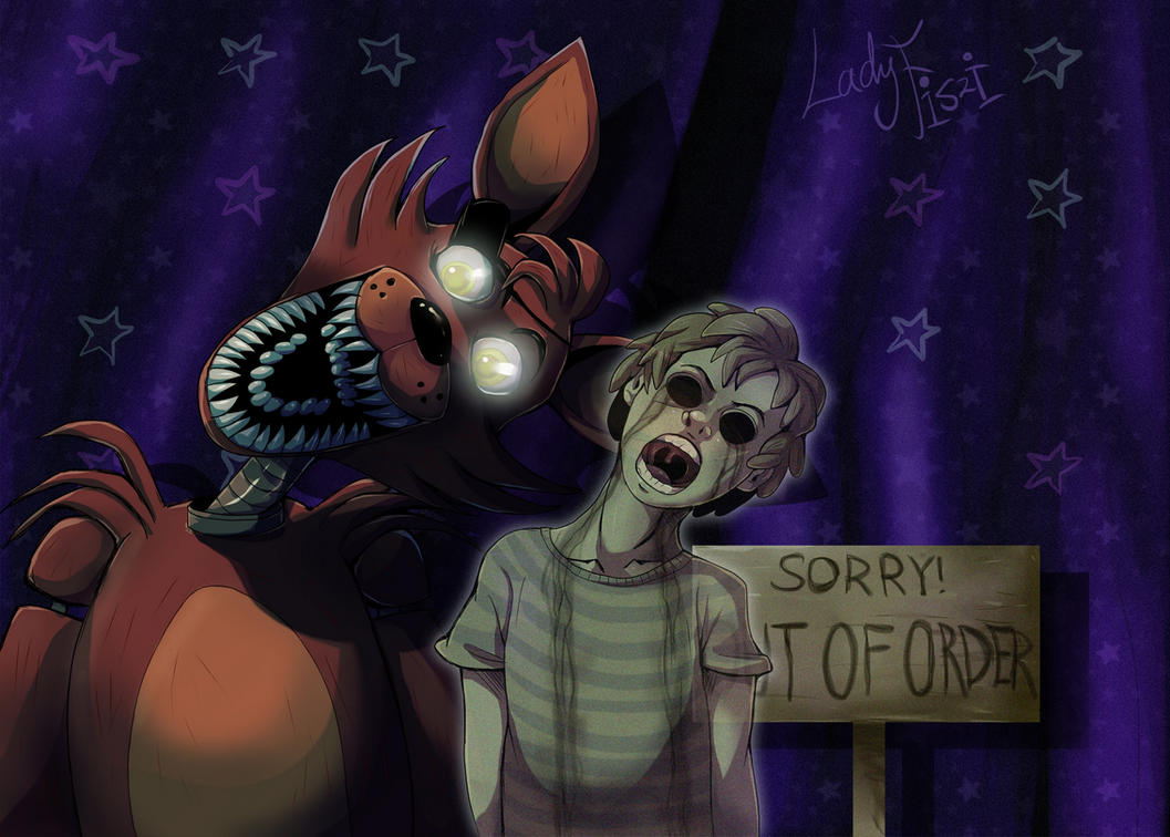 Fnaf foxy and his ghost