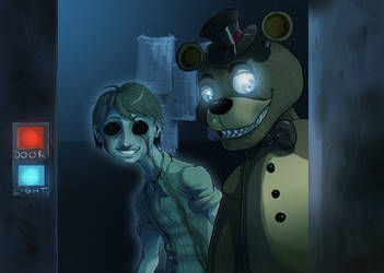 FNAF - Freddy and his ghost