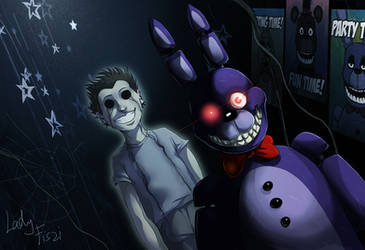Fnaf - Bonnie and his ghost