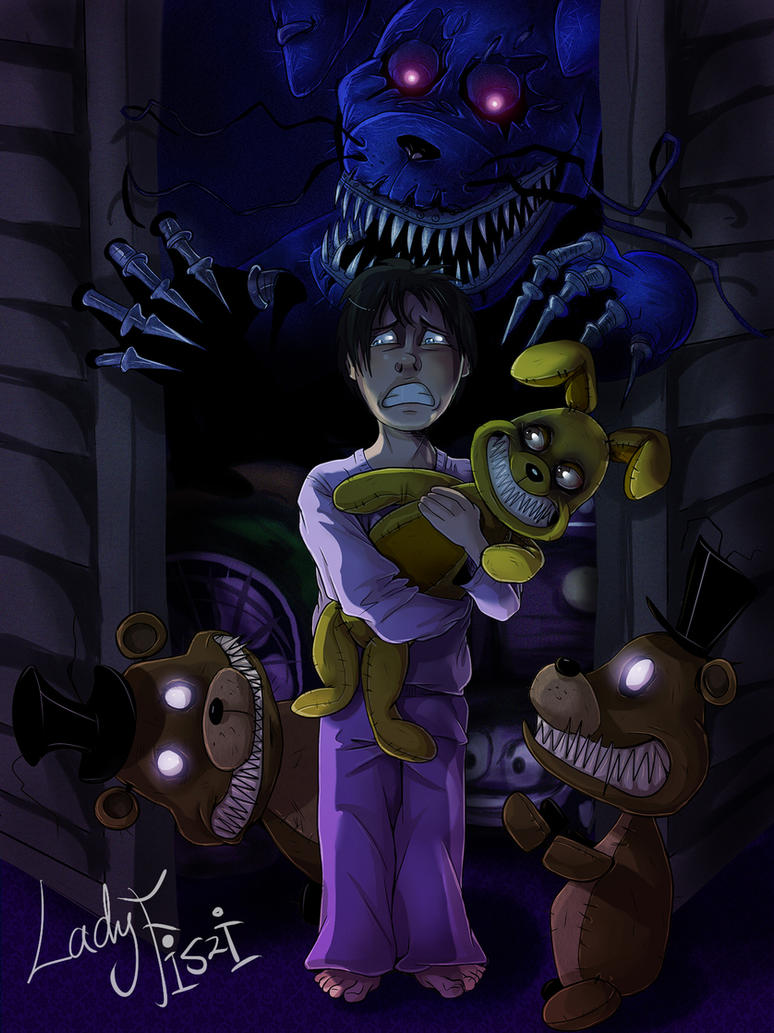 five nights at freddys 4 fanart by ladyfiszi