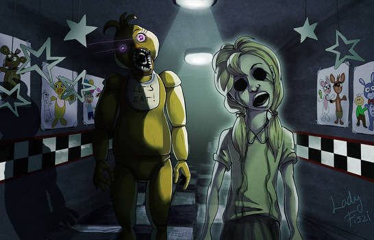 FNAF - Chica and her ghost