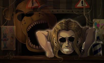 FNAF - Golden Freddy ghost