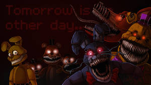 Five Nights At Freddy's 4 - Nightmares by LadyFiszi