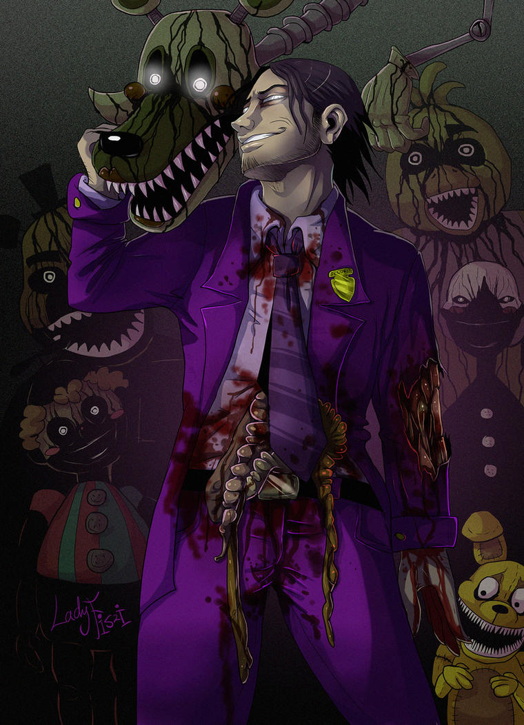 FNAF 3 - The Phantoms are the least of your worrie by LadyFiszi