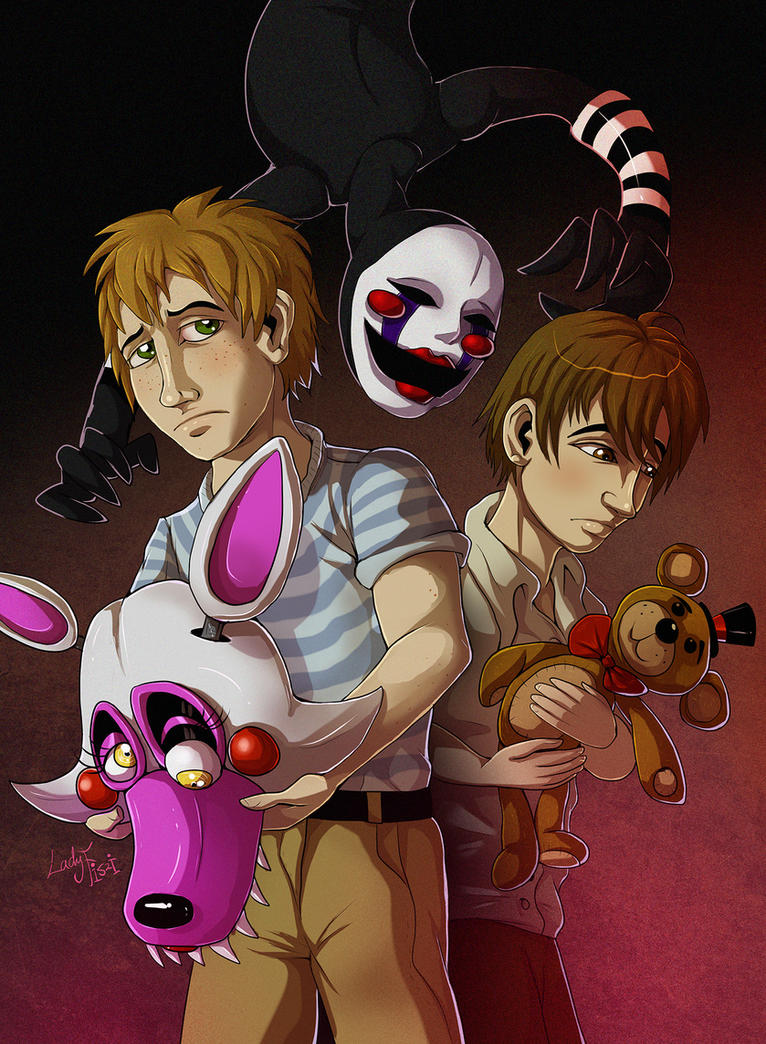 FNAF - What have you done by LadyFiszi