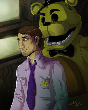 Mike and Golden Freddy