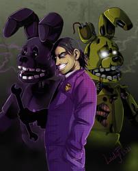 FNAF - purple man