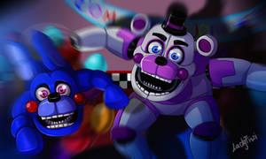 FNAF SL - Funtime Freddy and Bonbon