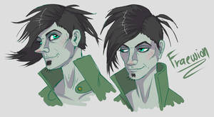 Fraewion original character sketch