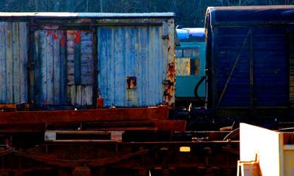 Carriage Blues Hues