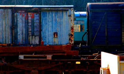 Carriage Blues Hues by roobaa