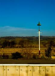 A Lampost on a Platform