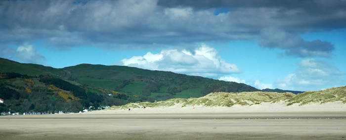 Cloud and Beach