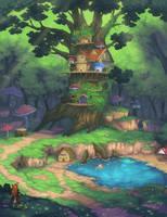 Forest Kingdom by Flipsi