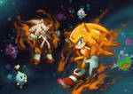 Super Sonic and Hyper Shadow