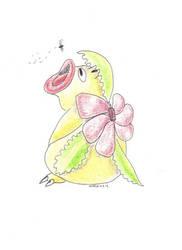 Daily Drawing 9: Pokemon Fusion: Weepinasaur