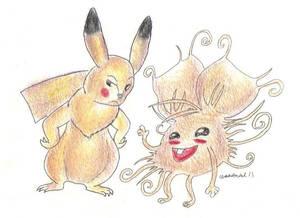 Daily Drawing 12: Pikachu Wannabe