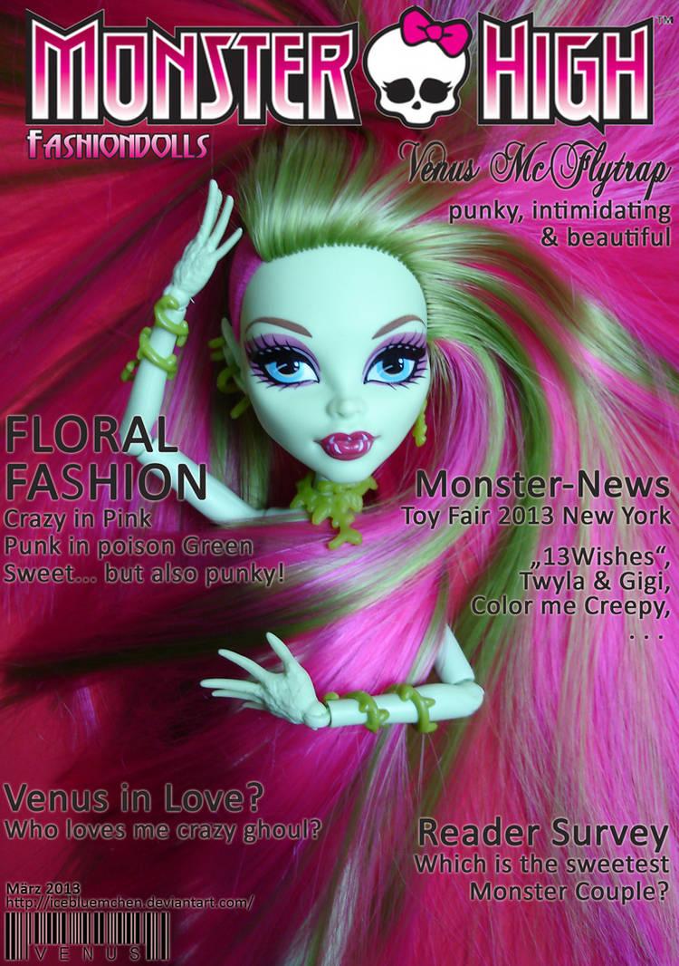 MH-Fashiondolls Cover - 03/2013 - Venus