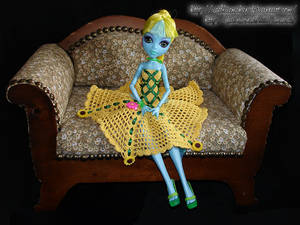 Little Miss Sunflower - Lagoona Blue