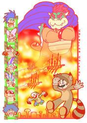 Super Mario Bros 3 by SuperCaterina