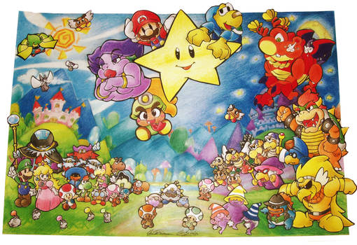 A Paper Mario Story