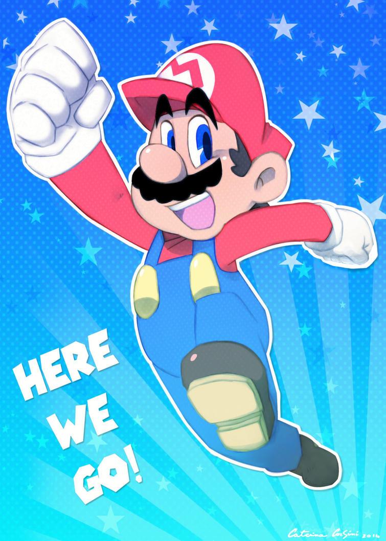 Happy Birthday, Super Mario! by SuperCaterina