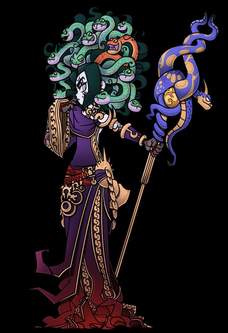 Kid Icarus Anime Medusa